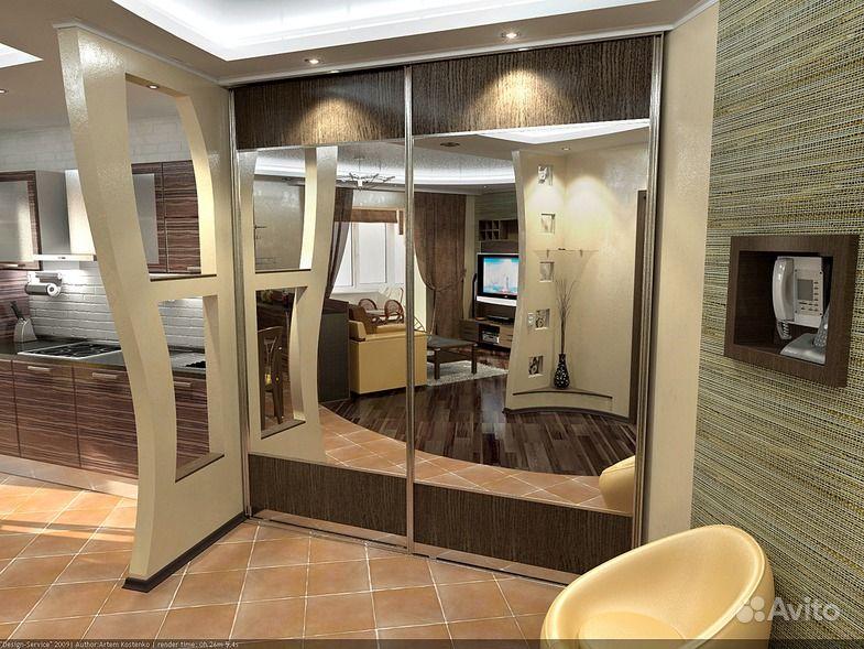 Современный дизайн 2х комнатной квартиры фото