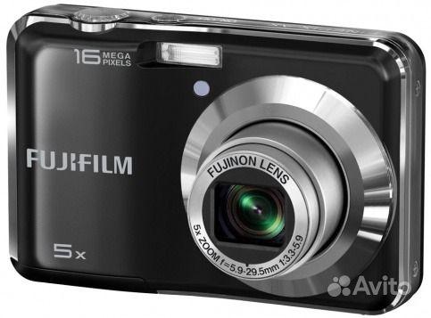 Компактный черный Fujifilm AX380. Калининградская область,  Калининград