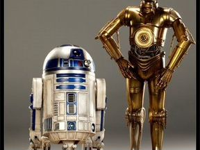 Sideshow star wars C-3PO and R2-D2 Premium Format