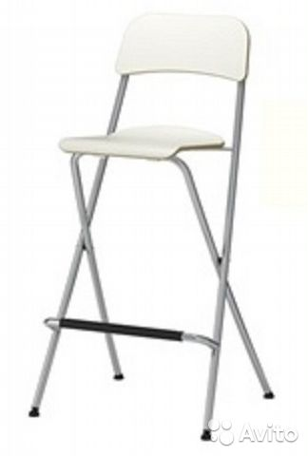 Барный стул складной