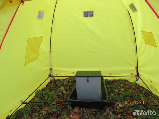 купить палатку для рыбалки кедр