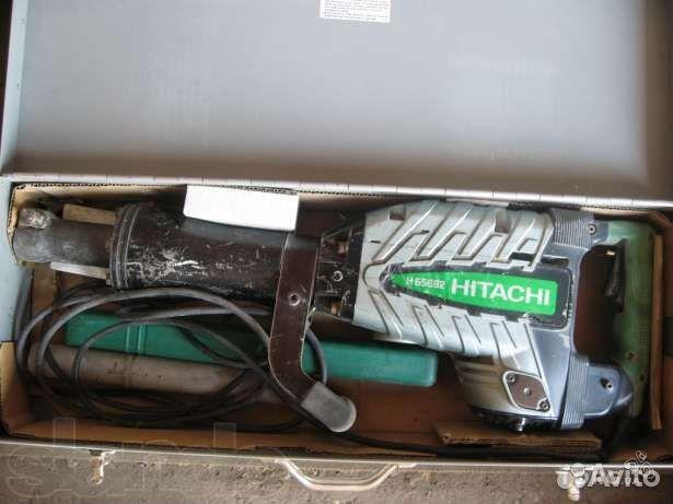 Отбойный молоток hitachi h65sb2 ремонт