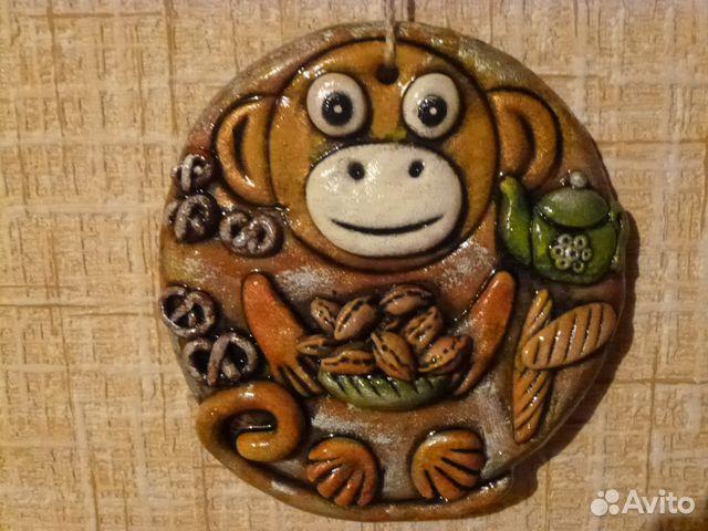 Поделки своими руками из соленого теста обезьяны