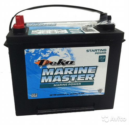 Аккумулятор marine master deka аккумуляторы