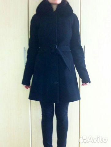 Зимнее пальто Екатерина Смолина 42 р б/у.