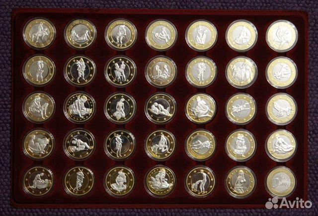 Коллекции. Предложение. Монетs 6 Sex Euros. . Сувенир Набор 38 шт.
