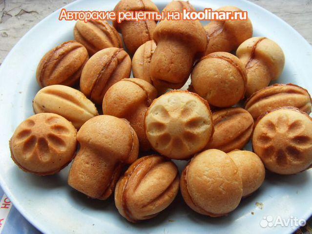 Рецепт грибочков и орешков