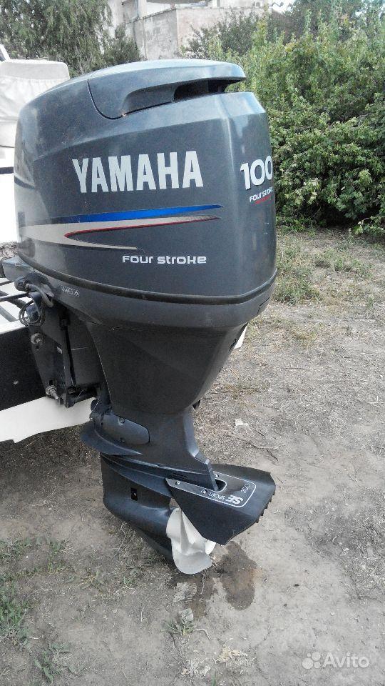 yamaha четырехтактный лодочный мотор