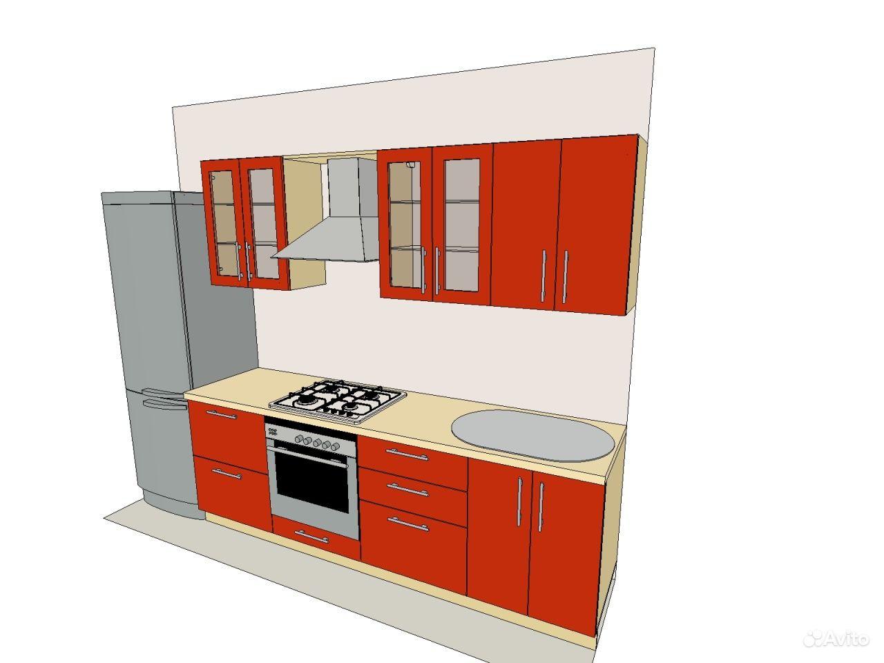 Заказать фасады на кухню дешево