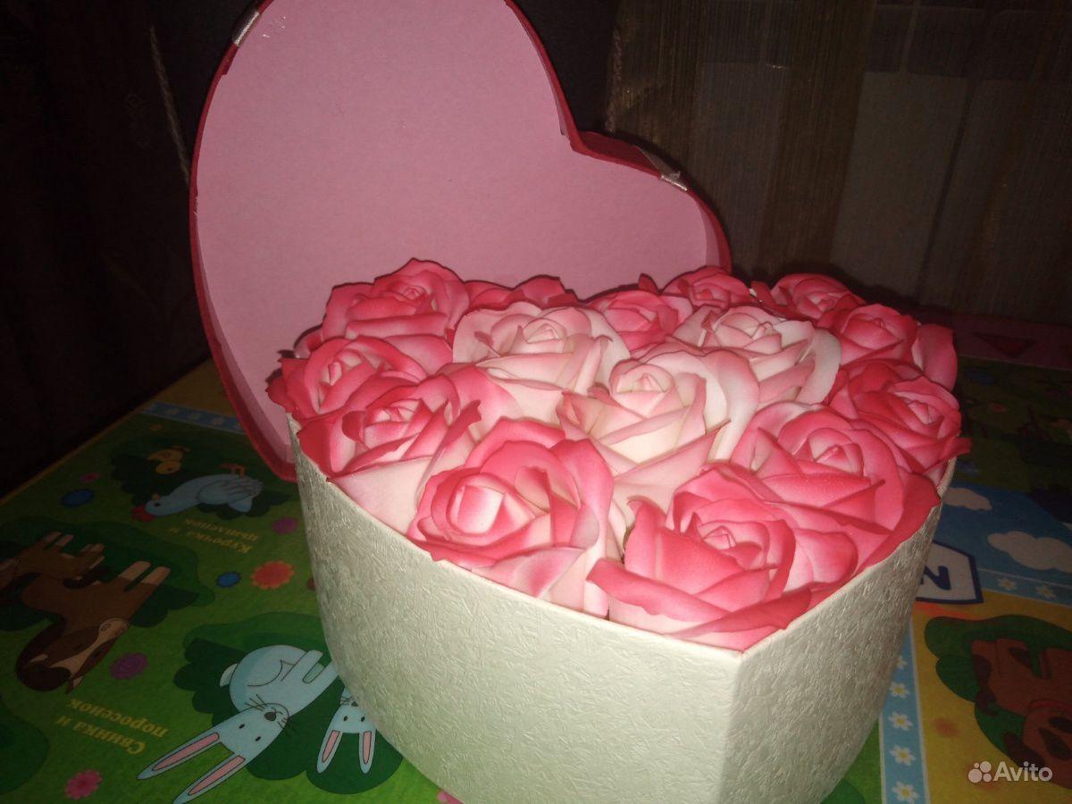 Букет из мыльных роз купить на Зозу.ру - фотография № 2