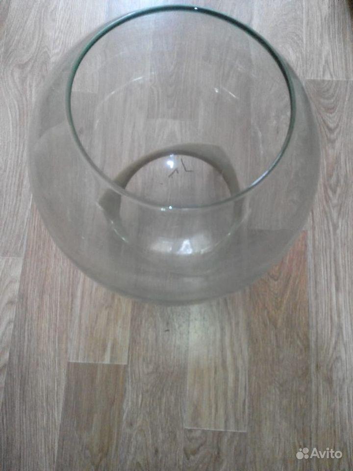 Аквариум круглый для рыб 15-20 л купить на Зозу.ру - фотография № 1