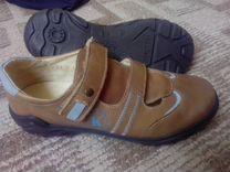 Туфли, полуботинки для мальчика 37 размер новые