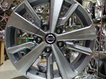Новые диски на Nissan R16 5x114.3 Replica