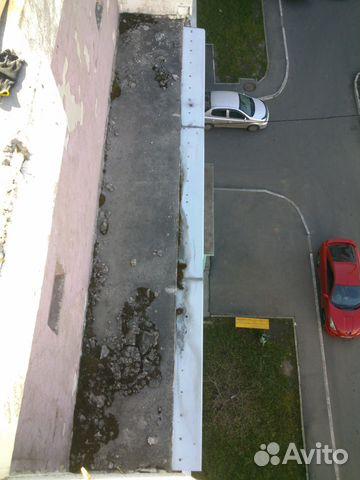 Услуги - делаем козырьки на балконы. ремонт балкона в иркутс.
