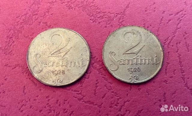 Латвия 2 сантим 1926 металлоискатели б у в россии