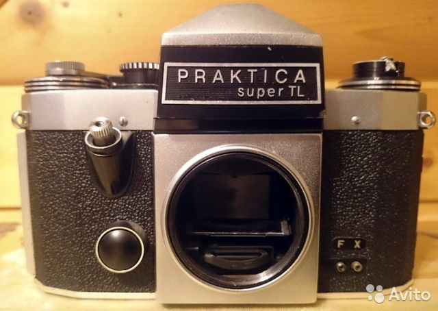 Praktica super tl camera body only m fully working ebay