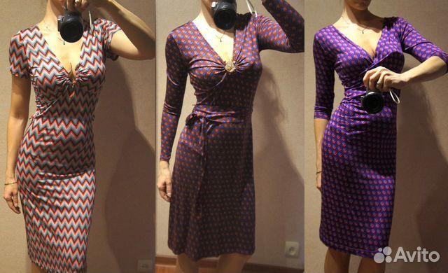 Платья трикотажные из италии