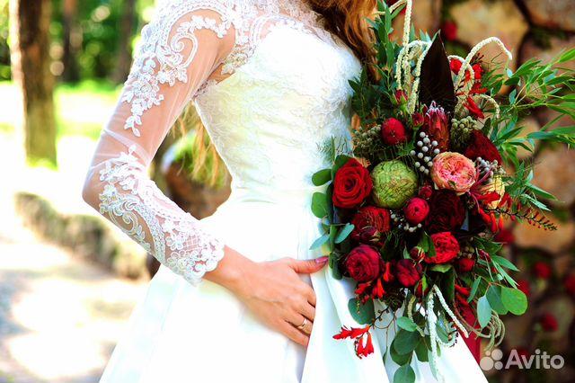 Авито свадебное платье владимир