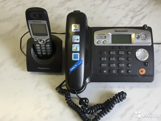 Инструкция для телефона panasonic kx tsd 500