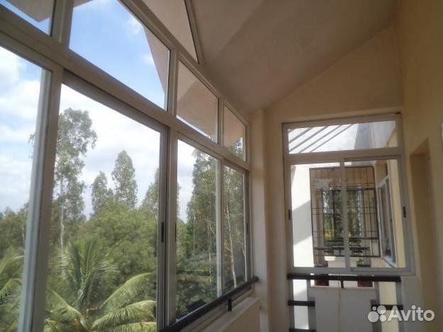 Окна из алюминия 3,12х2,12 арт102 в г.долгопрудный купить в .
