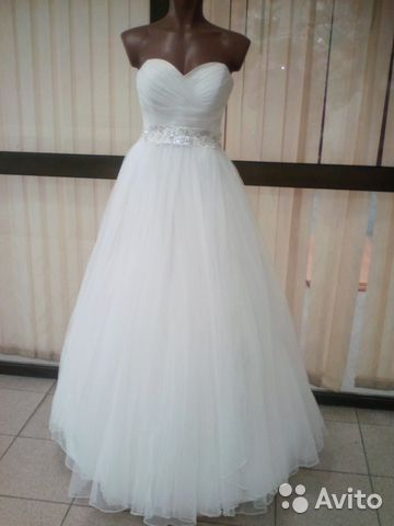 f443a27f4a6 Прокат Свадебное платье айвори+бисер