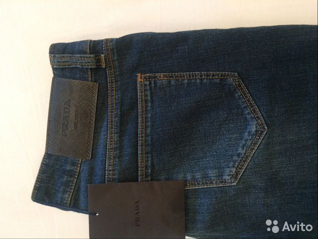 637b54a8d422 Новые джинсы Prada, размер 24 25 - Личные вещи, Одежда, обувь, аксессуары -  Калининградская область, Калининград - Объявления на сайте Авито