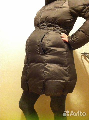 Пуховик куртка пальто для беременных купить в Москве на Avito ... 641a43f8db0