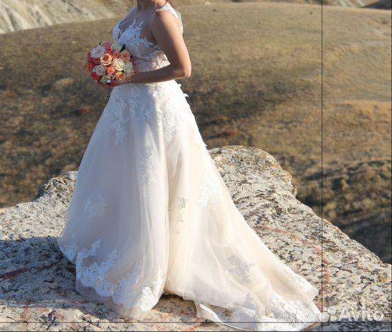 14fd8a703c5 Свадебное платье(прокат продажа) купить в Республике Крым на Avito ...
