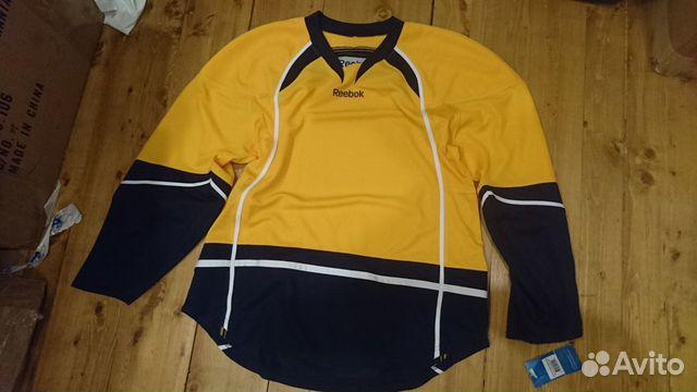 89036020550 Джерси Reebok, цвета Buffalo Sabres, NHL, р.L, нов