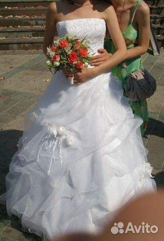 062caa3bf9d 40-42-44 Свадебное платье
