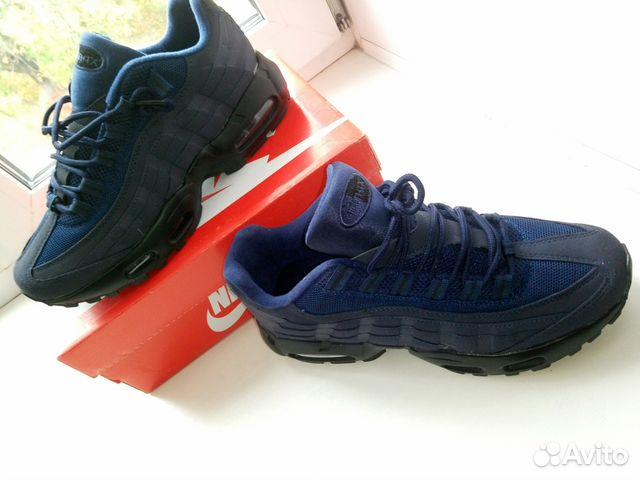 918a2a27 Кроссовки Nike Air Max 95 Triple Black   Festima.Ru - Мониторинг ...