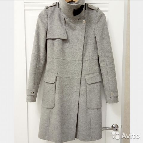 b133c95200a Серое пальто Karen Millen UK8 купить в Санкт-Петербурге на Avito ...
