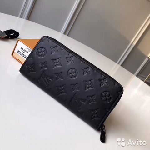 491fb7439e8f Портмоне louis vuitton zippy Monogram Shadow LUX | Festima.Ru ...