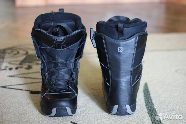 e07aaeb89fb8 Ботинки для сноуборда salomon   Festima.Ru - Мониторинг объявлений