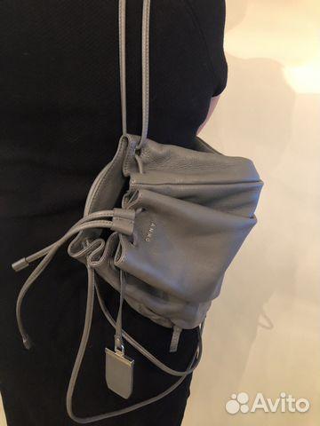 cab4bd73b543 Кожаный рюкзак dkny. Оригинал купить в Санкт-Петербурге на Avito ...
