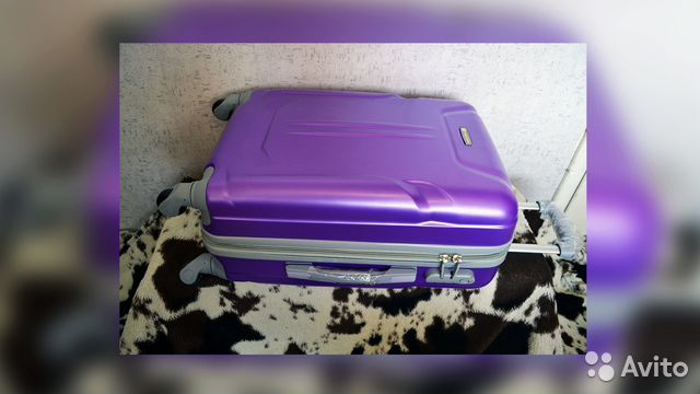 9935e0b4c0e6 Пластиковый чемодан | Festima.Ru - Мониторинг объявлений