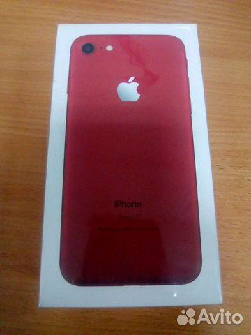 новый iphone 7 red