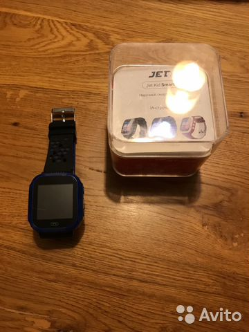 Часы с GPS трекером Jet KID Smart Black