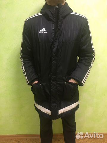 a04d100a Зимняя куртка adidas tiro купить в Челябинской области на Avito ...
