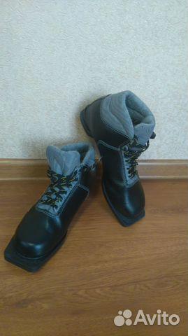 Лыжные ботинки Spine Cross + крепления купить в Иркутской области на ... 25c7a8ecdaa