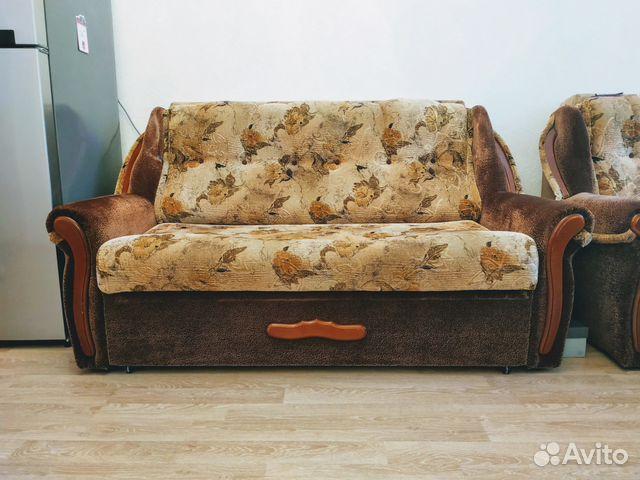 двуспальный диван кровать купить в санкт петербурге на Avito