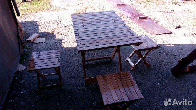 Набор раскладних стулев и стола 89182436629 купить 3