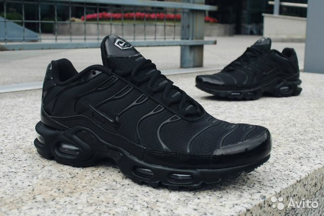65341b9b Nike AIR MAX black TN plus купить в Санкт-Петербурге на Avito ...