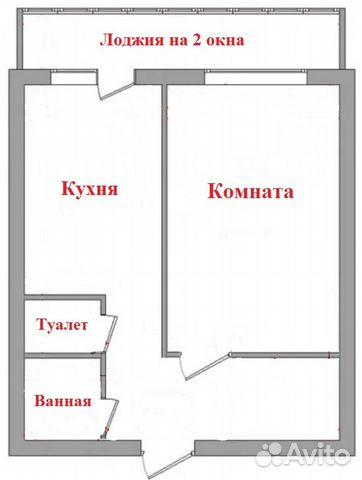 Продается однокомнатная квартира за 1 422 000 рублей. г Рязань, мкр поселок Черезово-Песочня, д 20 к 5.