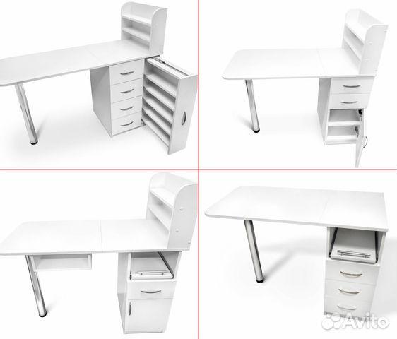 0231ce2376df9 Маникюрный стол. Стул-пуф купить в Санкт-Петербурге на Avito ...