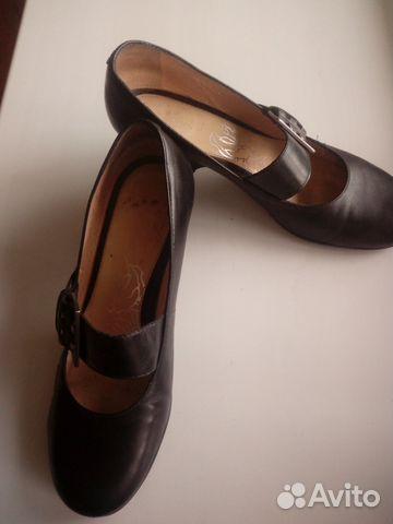 Туфли кожаные с ремешком. Эконика.Ria Rosa.36р-р 89117015256 купить 2