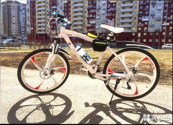 89527559801 Горный велосипед,21 скорость,литые диски