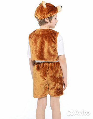 Карнавальный костюм бурого медведя 89537237020 купить 2