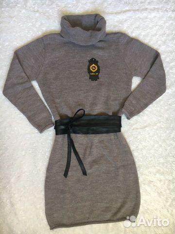 Новые платья вязанные 89049980947 купить 4