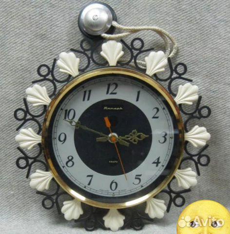 Настенные часы СССР Янтарь кварц в коробке купить 2